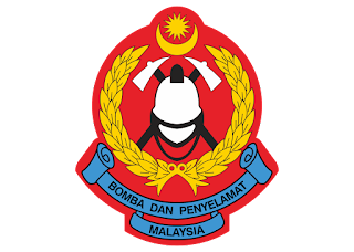 Jabatan Bomba Dan Penyelamat Malaysia Logo Vector