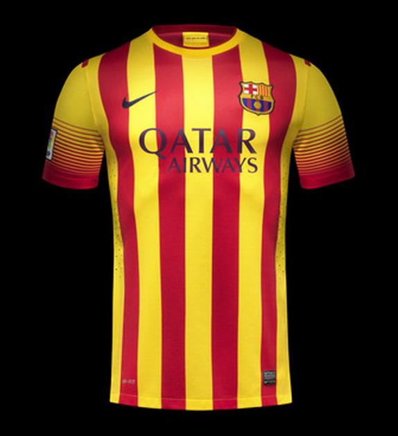 Barcelona release new away kit for 2013/14 season