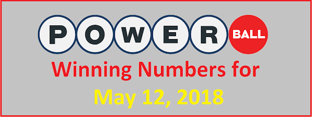 PowerBall Winning Numbers for Saturday, 12 May 2018