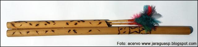 Zarabatana fabricada por Marina Ara Poty