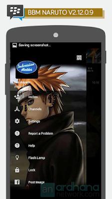 Preview BBM Naruto V2.12.0.9