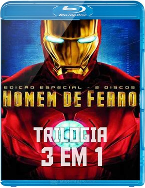Downlaod Trilogia Homem de Ferro 1, 2 e 3 (2013) Gratis