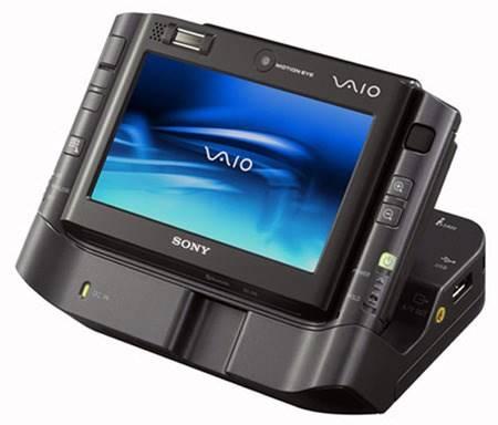 O VAIO UX series não era muito intuitivo e contava com apenas 2 GB de memória