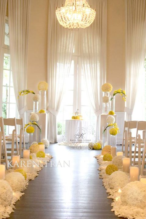 A Silk Flower Depot Blog Charming Wedding Ceremony With