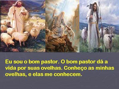 """Resultado de imagem para """"Eu sou o bom pastor. O bom pastor dá a vida por suas ovelhas."""
