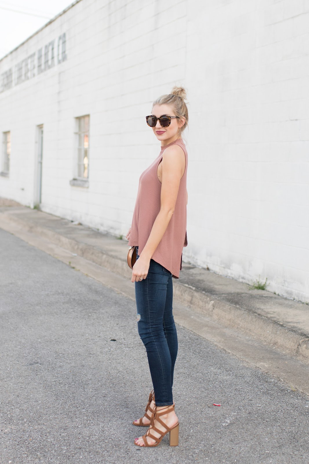 Dressed up tank top