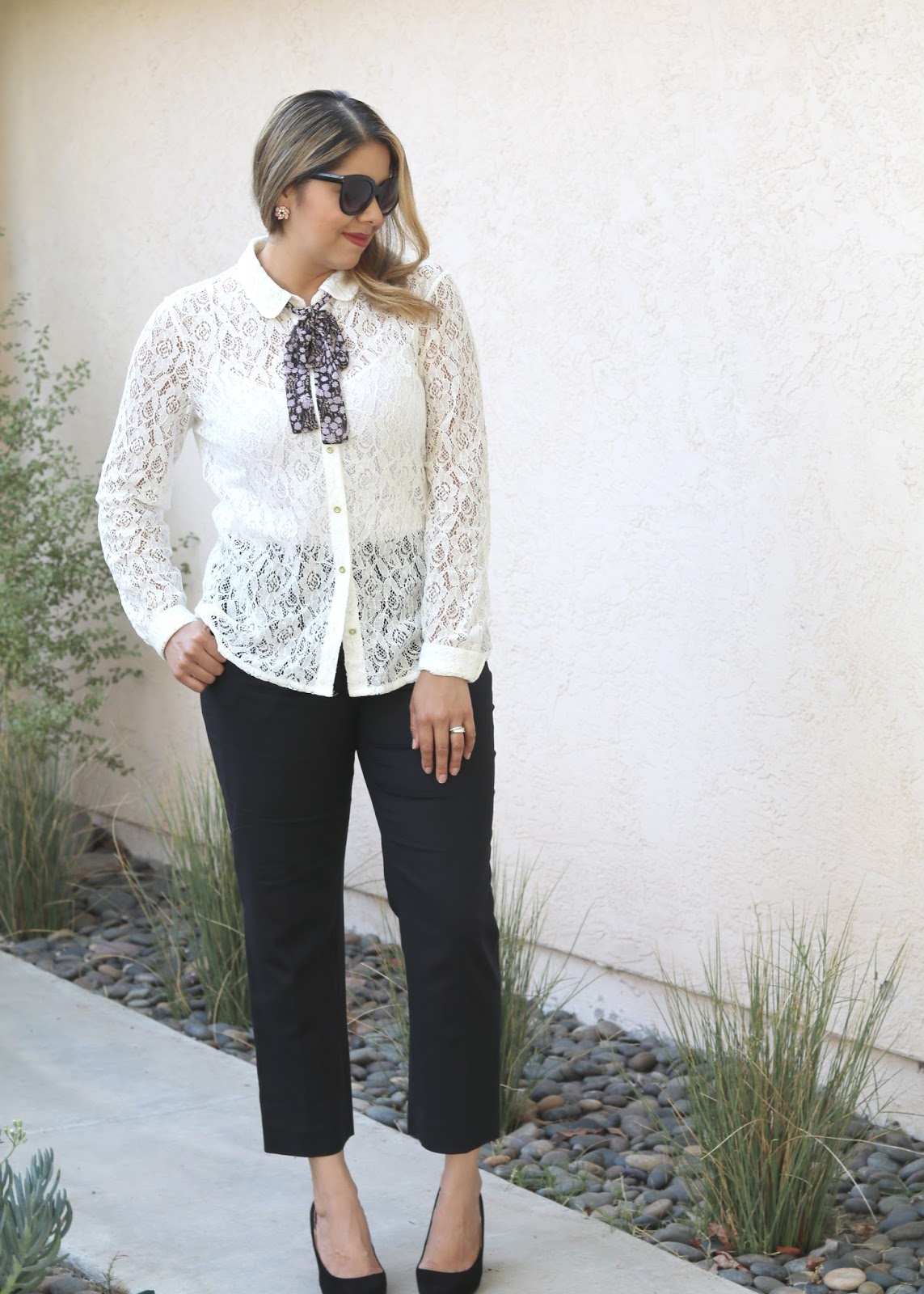 lc lauren conrad blouse, lauren conrad for kohls collection, san diego fashion blogger, socal fashion blogger