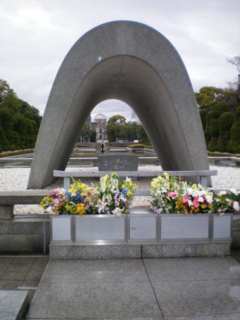 Parque de la paz en Hiroshima
