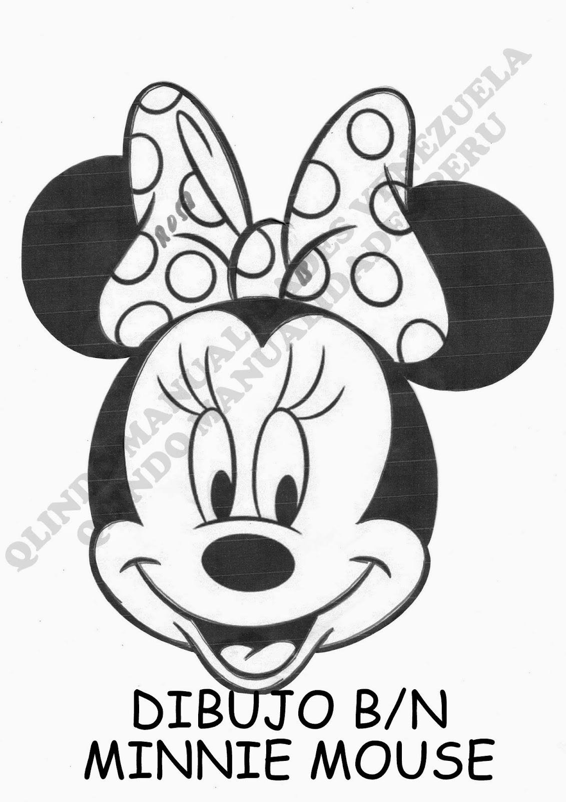 Tutorial Técnica de Fondo Negro Mickey Mouse