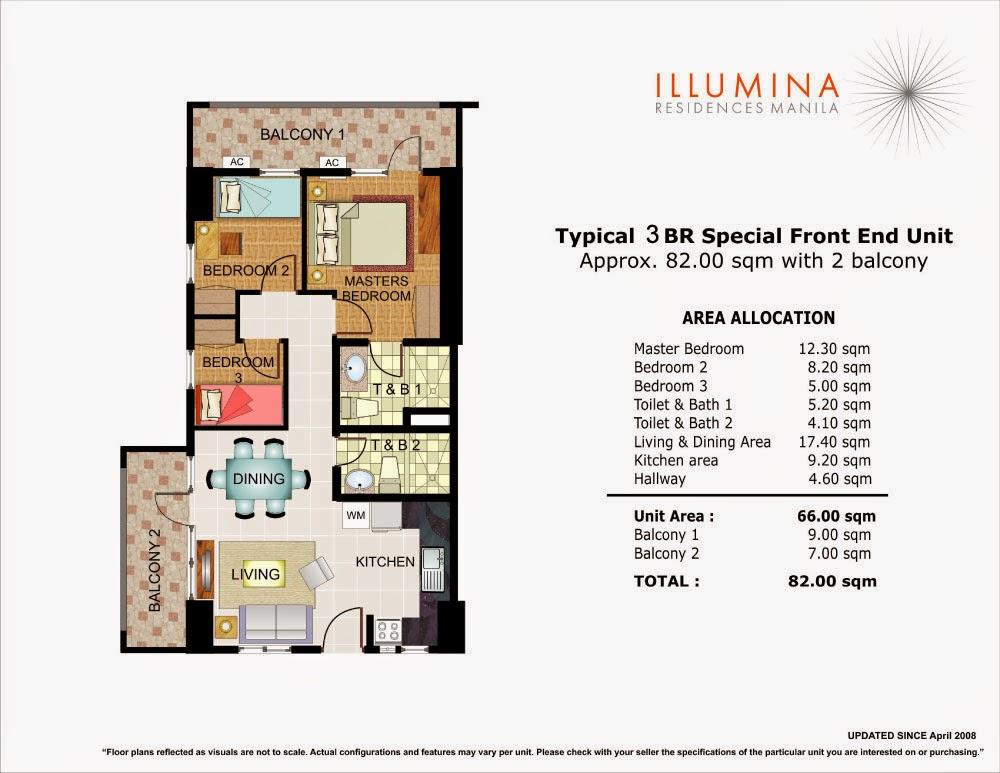 Illumina Residences 3 Bedroom End-Unit