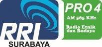 Radio 585 am RRI Pro 4 surabaya