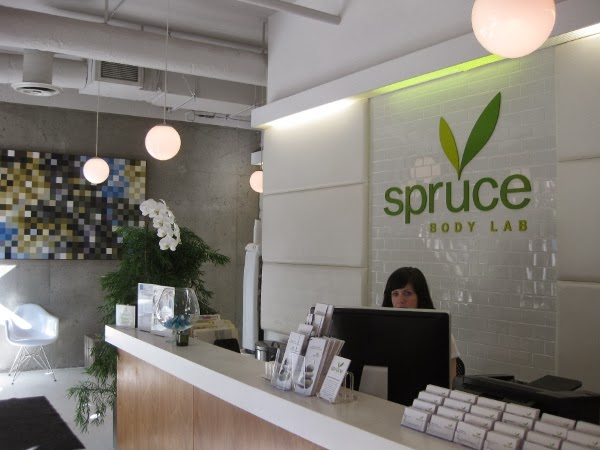 Spruce Body Lab reception area