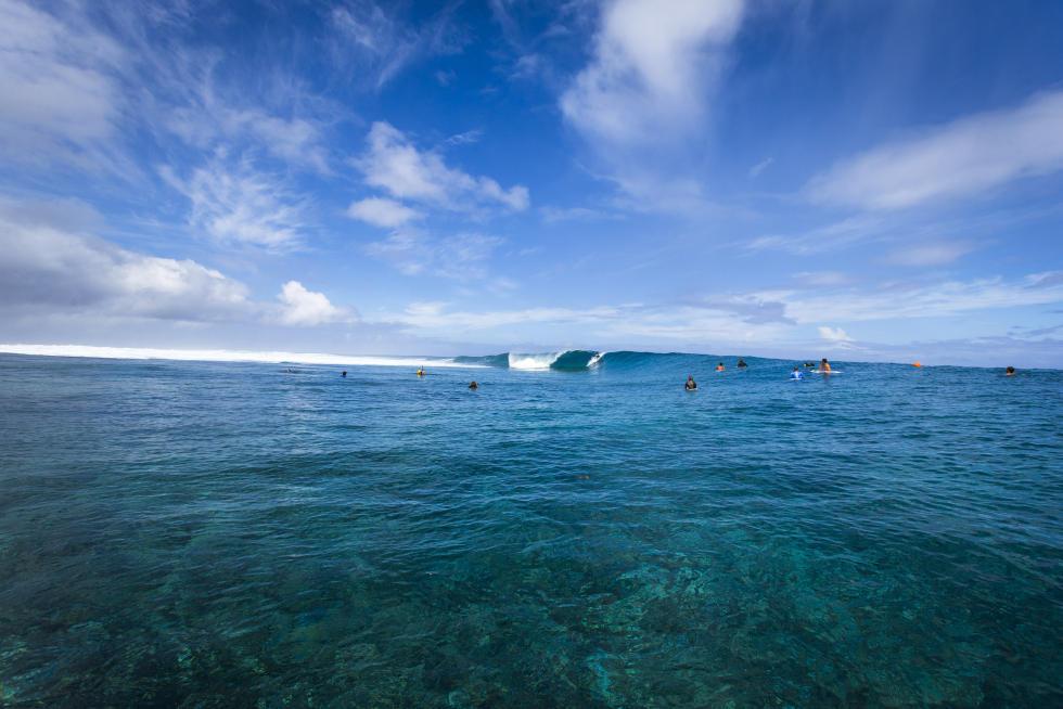1 event site Teaupo o Billabong Pro Tahiti 2016 foto wsl Poullenot Aquashot