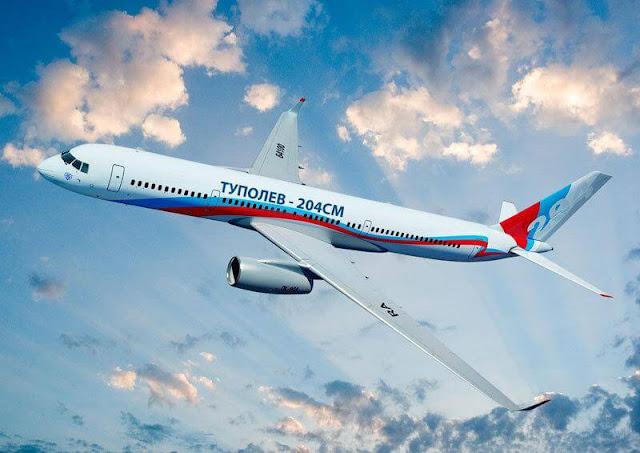 Производство гражданских самолетов в России