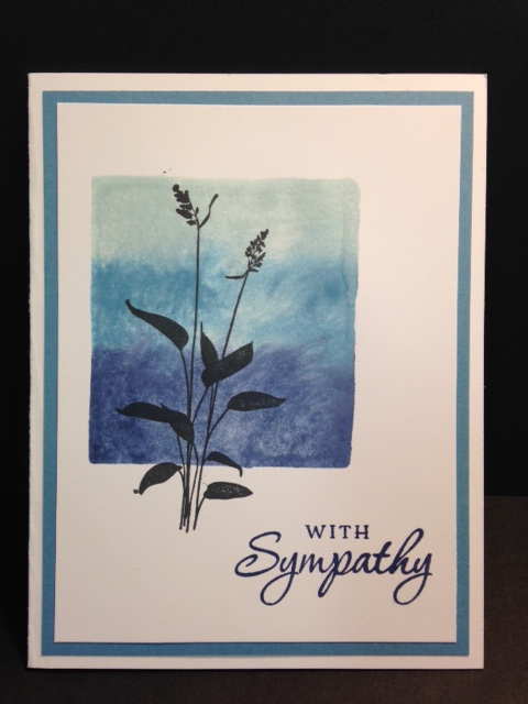 My Creative Corner! A World of Dreams Sympathy Card