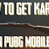 How to get Kar98 in PUBG mobile - Best place to find kar98 in PUBG mobile