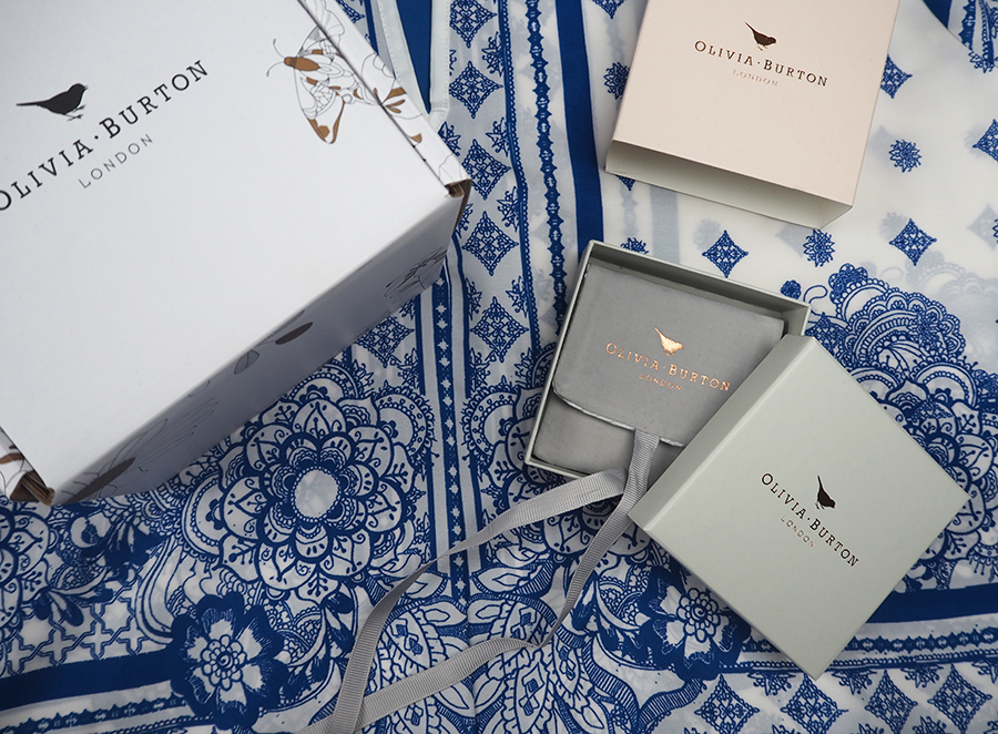 Olivia Burton Packaging