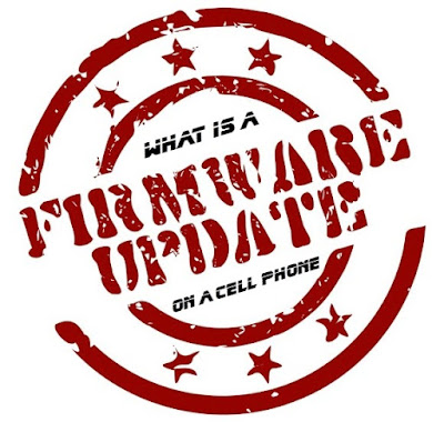 What is a firmware update on a cell phone