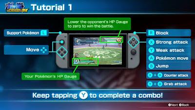 Pokkén Tournament DX Controls Tutorial Nintendo Switch demo