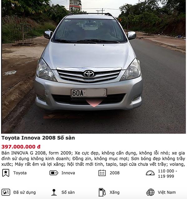 Bạn có thể nào tin xe Toyota Innova có giá 350 triệu ảnh 6