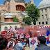 ΣΥΓΚΛΟΝΙΣΤΙΚΕΣ ΕΙΚΟΝΕΣ!!! ΟΠΑΔΟΙ ΤΟΥ ΟΛΥΜΠΙΑΚΟΥ «περικύκλωσαν» την Αγιά Σοφιά  με ΕΛΛΗΝΙΚΕΣ ΣΗΜΑΙΕΣ και οι Τούρκοι έμειναν να κοιτούν σαν χαζοί...!!!