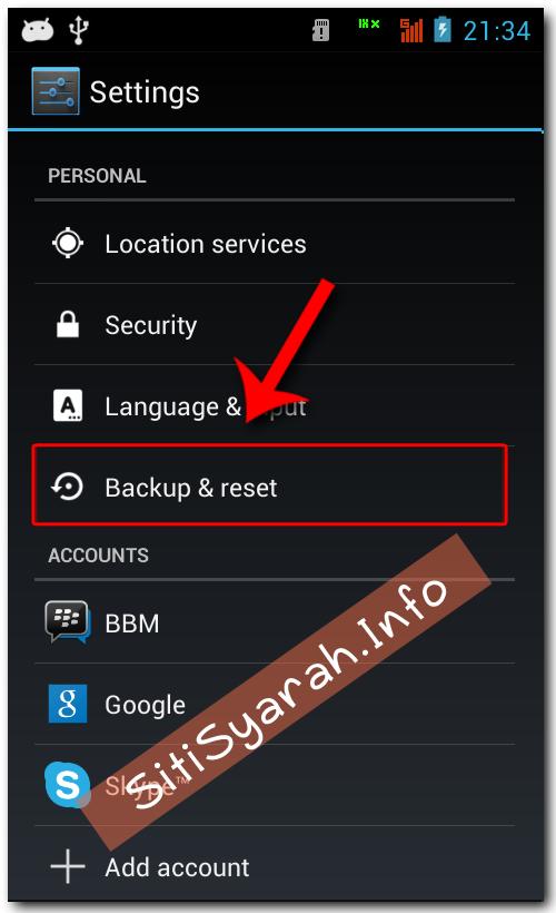Solusi Android Error