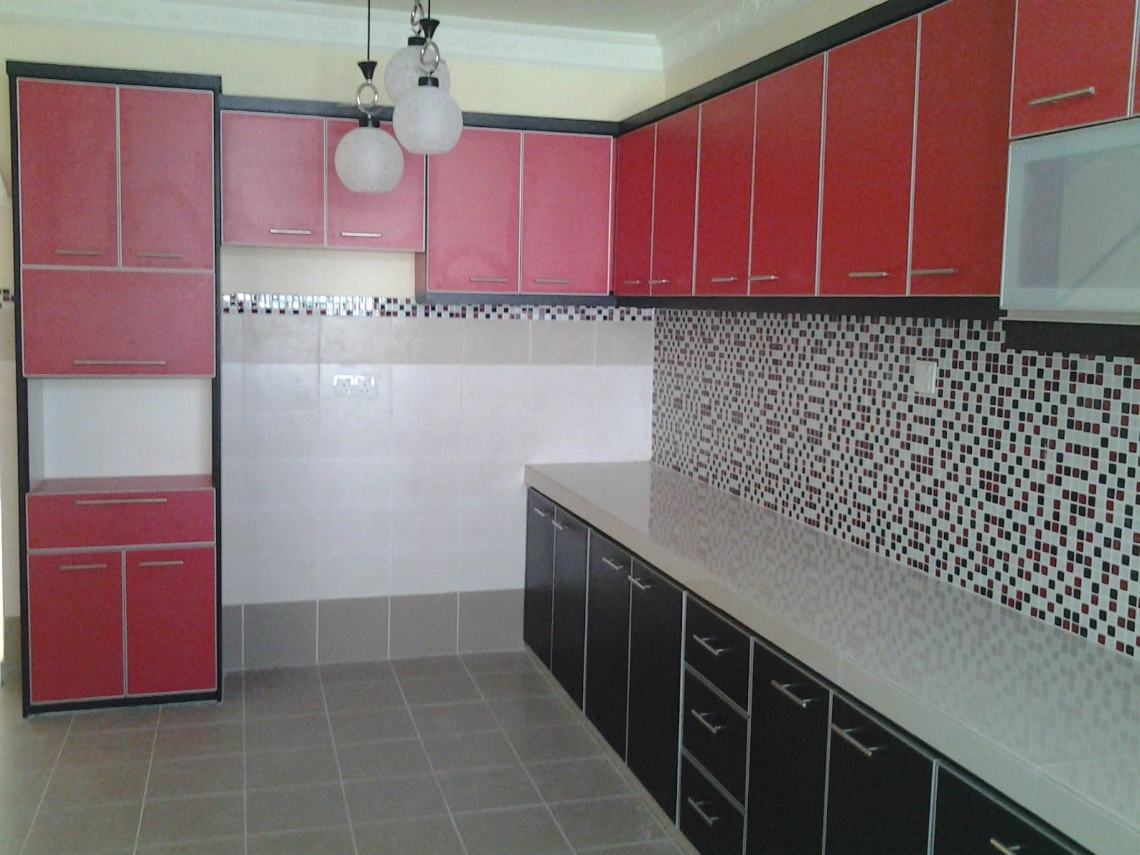 Ukuran Lebar Panjang Tinggi Perkakas Dapur Adalah Agak Standard Seperti Peti Sejuk Dan Sinki