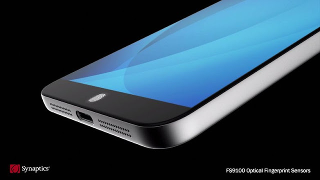 Synaptics unveils a glass fingerprint sensor. / © Synaptics