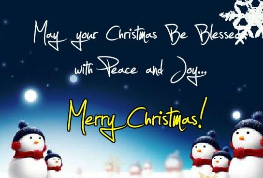 Short Christmas Greetings Message Sayings