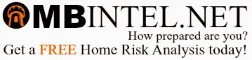 home safety, home security, home emergency preparation, home risk, home analysis, home mbintel, natural disaster,