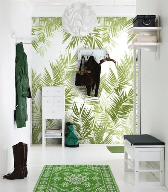Ideas para decorar recibidores pequeños-3