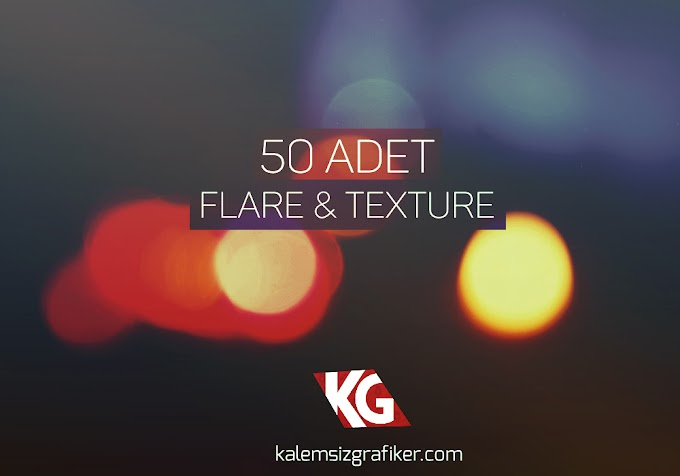 50 Adet Flare & Texture