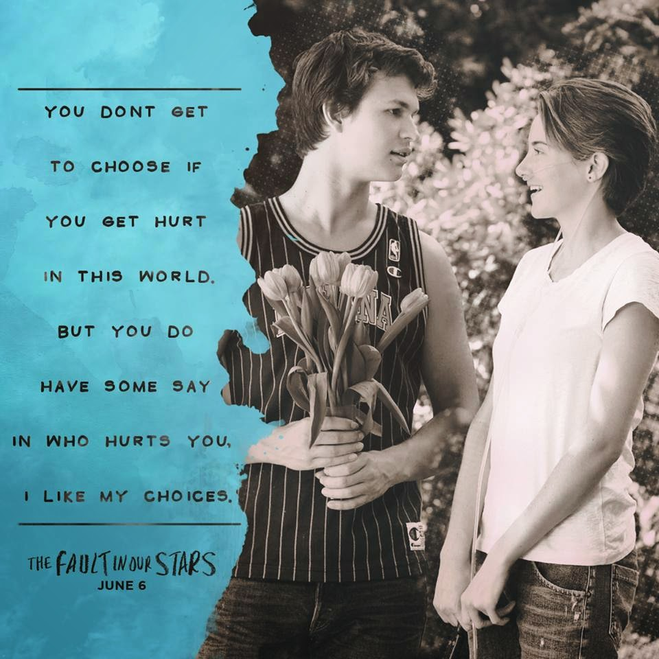 The Fault in Our Stars Movie Quotes / The Coffee Chic