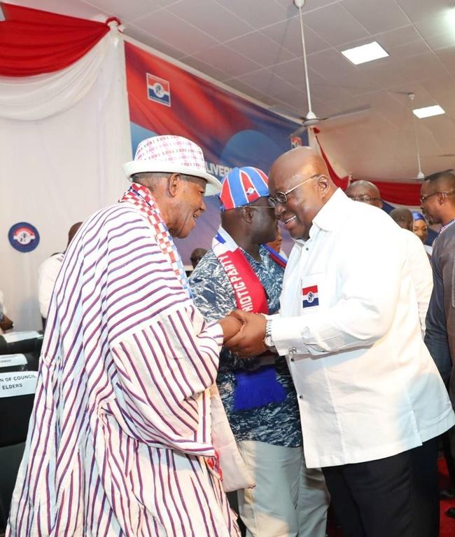 President Akufo-Addo Mourns C.K. Tedam