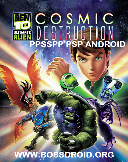 Ben 10 - Ultimate Alien - Cosmic Destruction PPSSPP PSP Iso