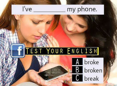 Test, your  English