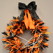 The Ribbon Curl: Bitsy the Spider Halloween Ribbon Wreath