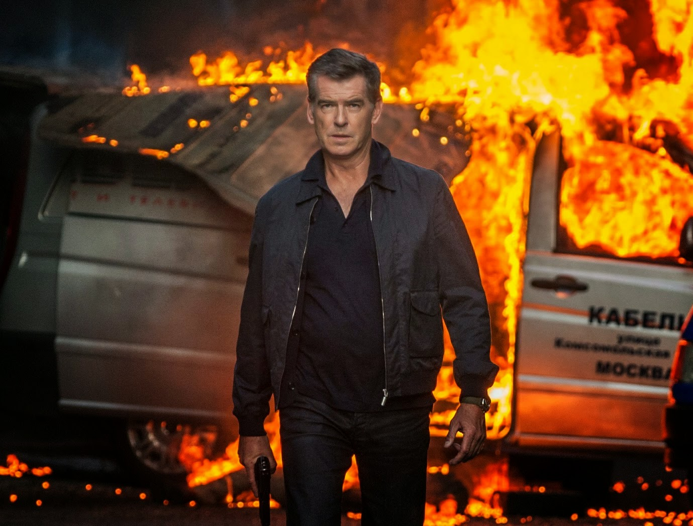 Pierce Brosnan November Man action movie spy