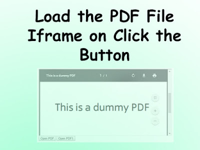 load-pdf-in-iframe-on-click