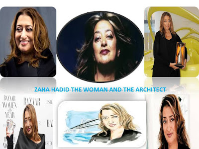 Zaha, Hadid, the woman, and, the architect,