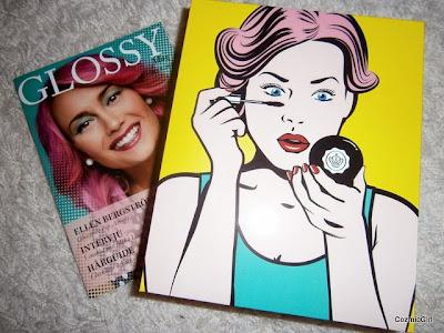 """""""glossybox oktober"""" """"pop art"""""""