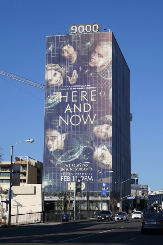 Giant Here and Now HBO series billboard