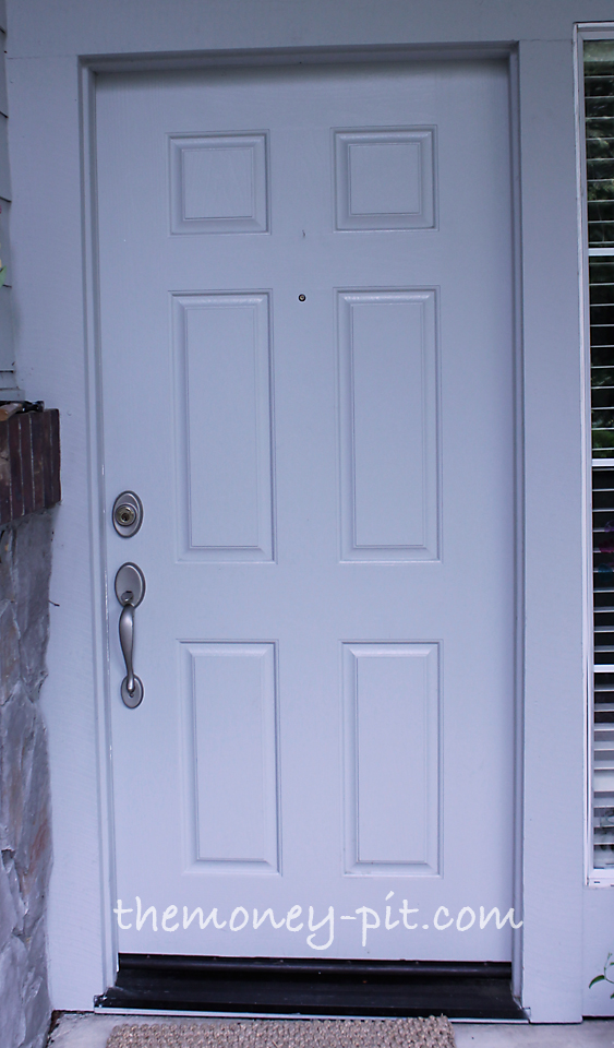 Adding House Numbers to a Steel Door - The Kim Six Fix