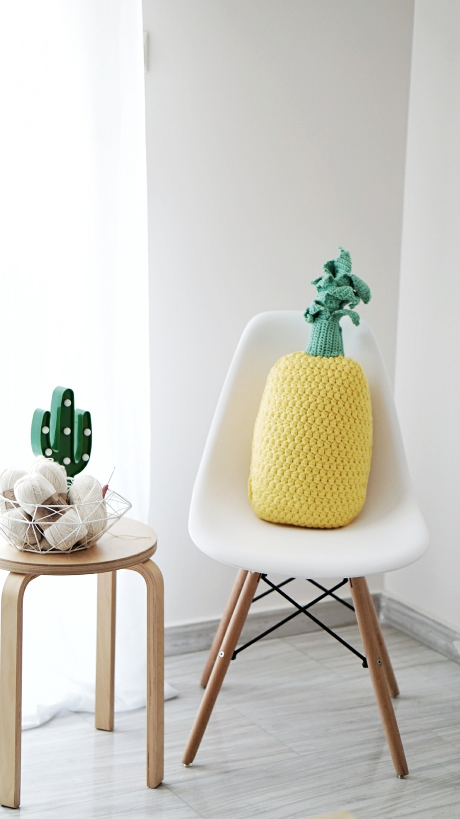Crochet Pineapple Pillow With Hobbycraft Obsigen