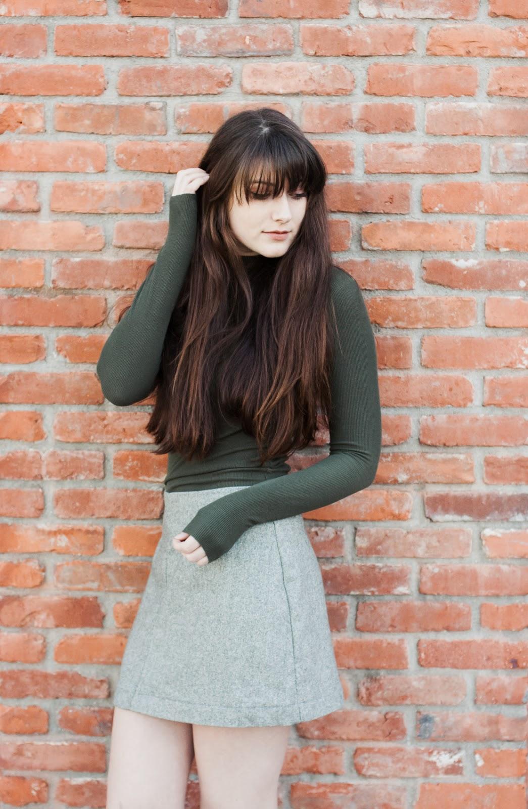 hagen salme a-line skirt