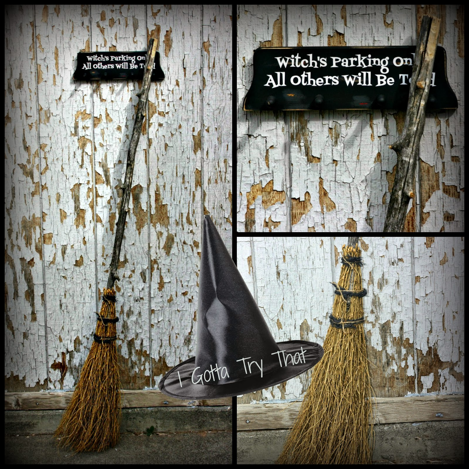 Witches Broom Or Besom Amp Broom Holder I Gotta Try That