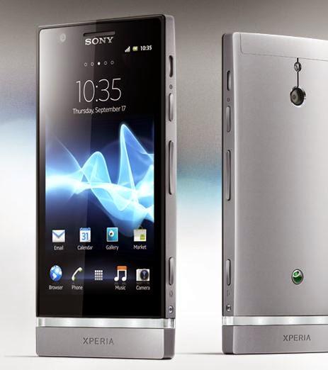Harga dan Spesifikasi Hp Android Sony Xperia U ST 25i Terbaru