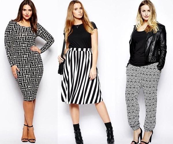 Popolare Les Femmes Rebelles: Moda curvy: idee e outfit per donne formose JN61