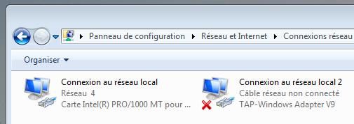 OpenVPN - TAP-Windows Adapter V9