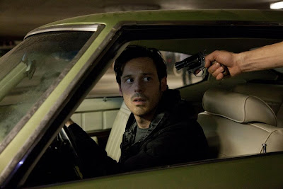 Scoot McNairy as Frankie, Jackie Cogans shoots, Killing Them Softly, Directed by Andrew Dominik